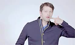 Watch and share Stuff And Things GIFs and Misha Collins GIFs on Gfycat