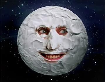 Creepy Moon GIFs
