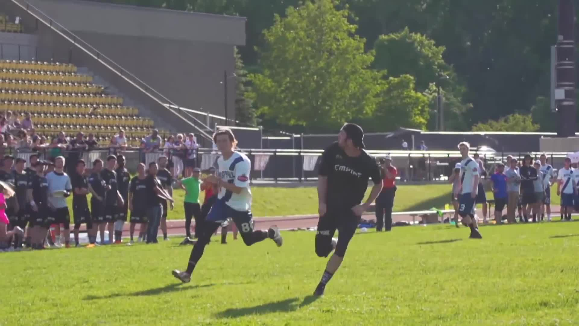 american ultimate disc league, audl, ben jagt, highlights, justin allen, marques brownlee, new york empire, raleigh flyers, top 10, ultimate, ultimate frisbee, Ben Jagt Layout Goal GIFs