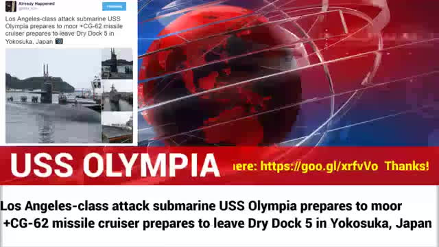 MORE FIREPOWER- Los Angeles-class Attack Sub USS Olympia pre GIFs