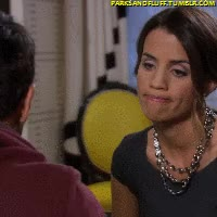 Watch and share Natalie Morales GIFs and Parks And Rec GIFs by Ricky Bobby on Gfycat
