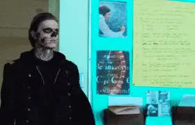 Watch and share Tate Langdon Gif GIFs and Murder House GIFs on Gfycat
