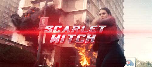 Watch and share Scarlet Witch GIFs on Gfycat