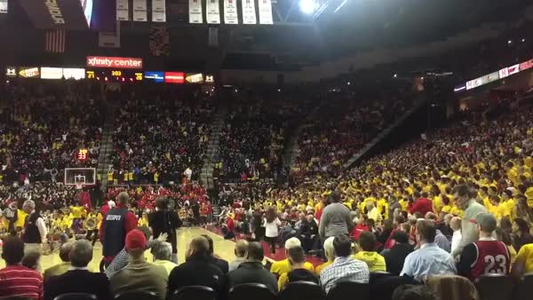 Watch and share Maryland Student Flash Mob Vs. Wisconsin (reddit) GIFs on Gfycat