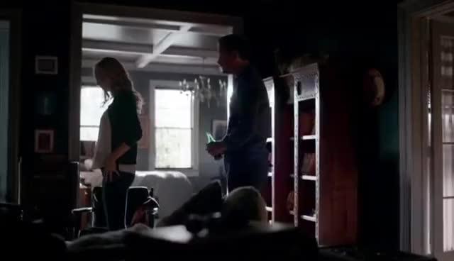 The Originals, The Vampire Diaries, The Vampire Diaries Caroline Scares Alaric GIFs