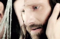 aragorn, aragorngif, arwen, arwengif, lord of the rings, lotredit, lotrgif, mygif, rotkgif, the return of the king, a pale moon rises GIFs