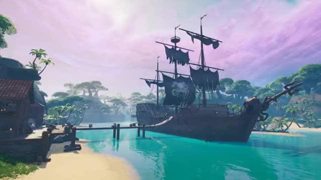 Watch and share Fortnite Season 8 Pirate Ship GIFs by yt_awsomediverplayz on Gfycat