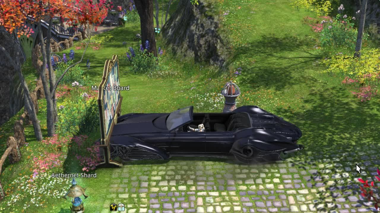 FFXIV Car GIFs