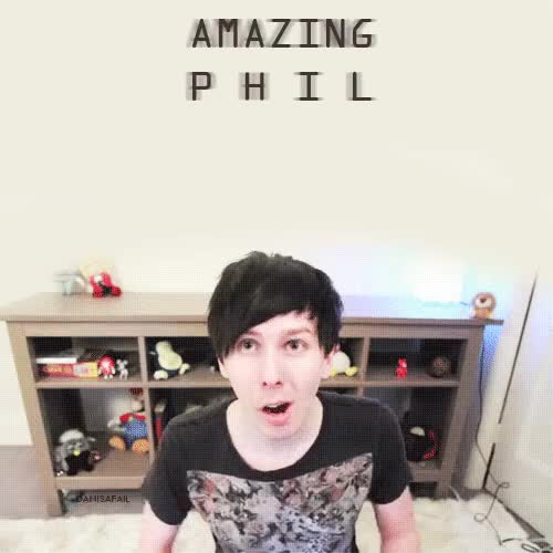 Watch and share Dan And Phil GIFs and Amazingphil GIFs on Gfycat