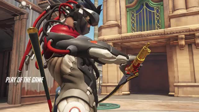 Watch and share Dragonblade GIFs and Overwatch GIFs by mushin on Gfycat