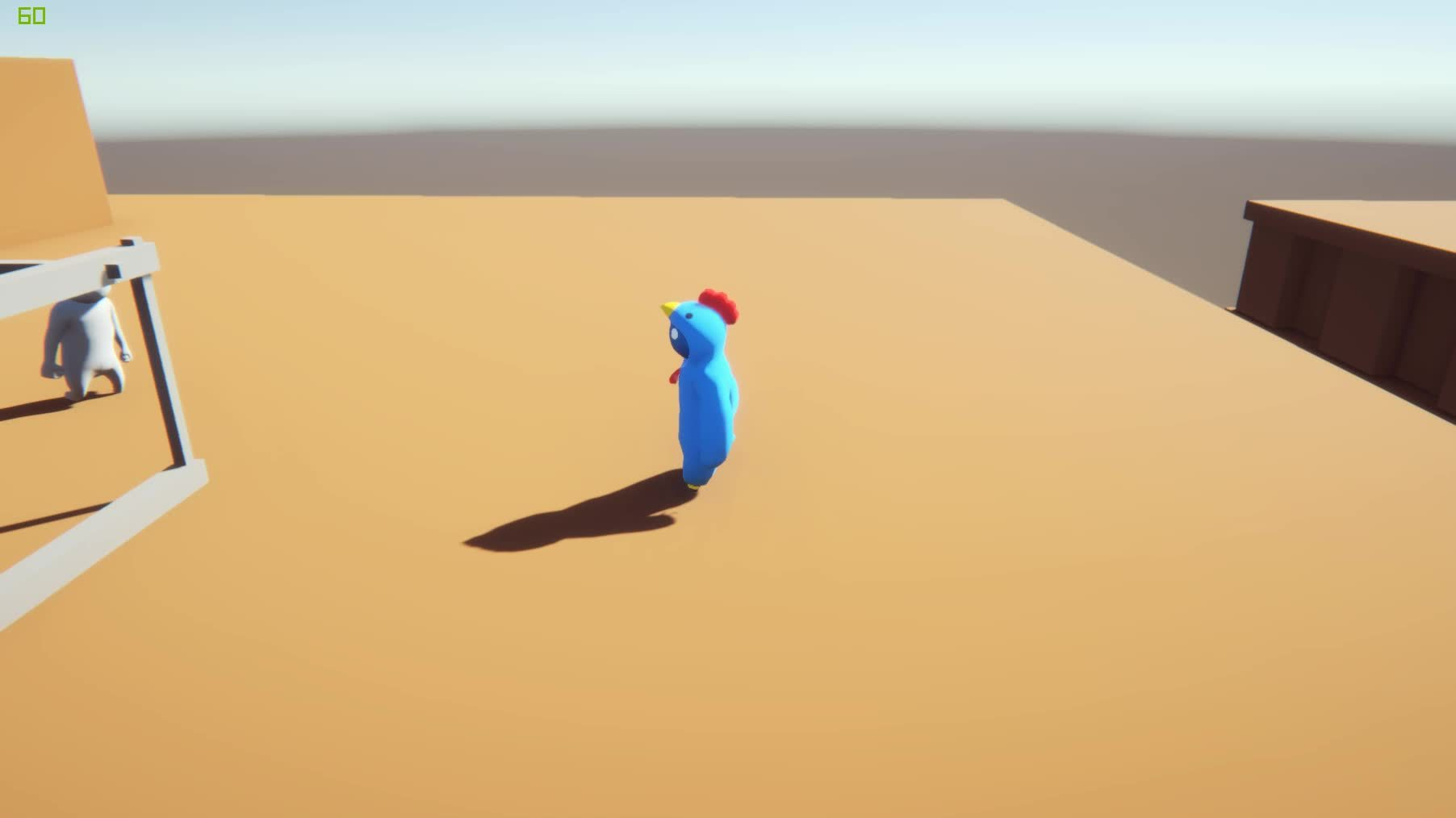 gaming, gangbeasts, Blue Chicken is OP GIFs