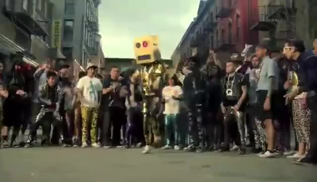 Watch and share Party Rock Anthem Robot GIFs on Gfycat