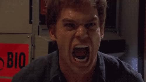 Watch [frustrated] angry dexter frustrated  GIF on Gfycat. Discover more Scream, angry, dexter, dexter morgan, frustrated, michael c hall, reactions, screaming, yell, yelling GIFs on Gfycat