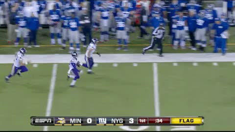 Watch and share Vikings Giants Football Punt Return Gifs GIFs on Gfycat