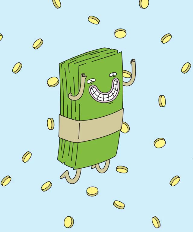 Watch and share Raining Money 2.gif GIFs by Streamlabs on Gfycat