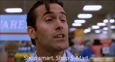 Watch and share Shop Smart Shop Smart GIFs on Gfycat