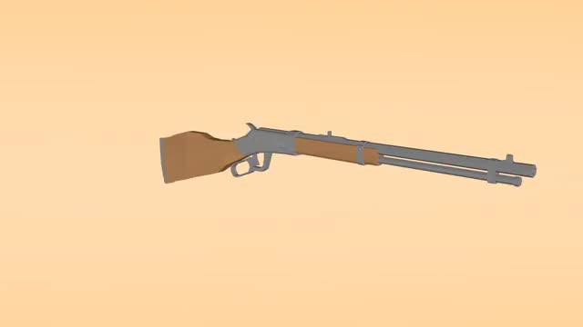 Watch and share Low Poly Winchester Repeater GIFs by Whatevvs_ on Gfycat