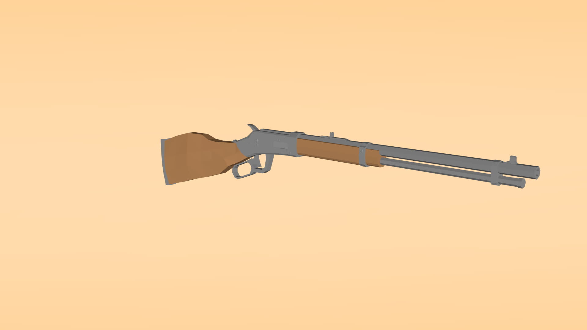 Low Poly Winchester Repeater GIFs