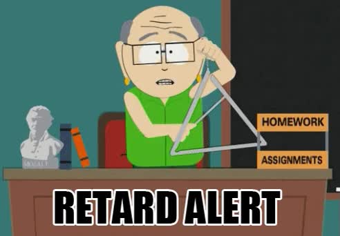 Watch retard alert GIF on Gfycat. Discover more related GIFs on Gfycat