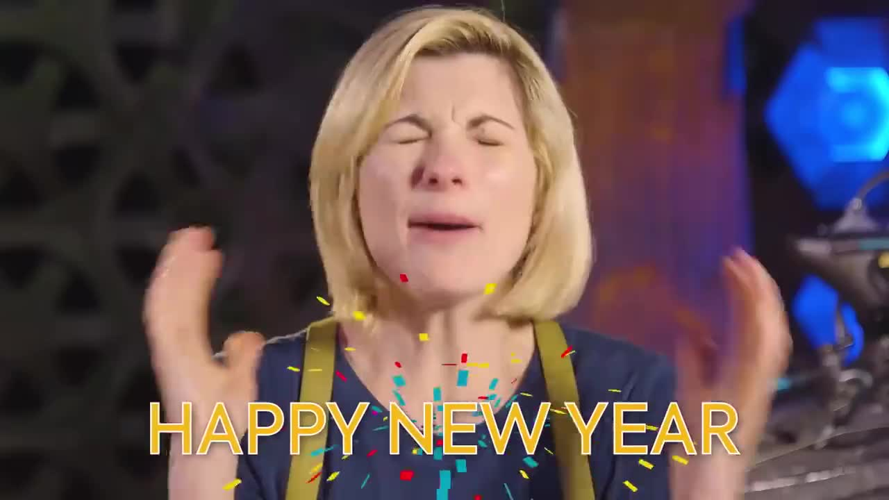 bbc, Happy New Year! | Doctor Who GIFs