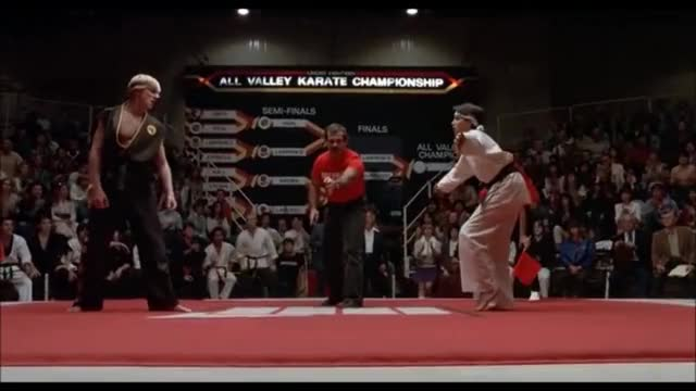 Watch and share The Karate Kid 1984 GIFs and Sensei Krease GIFs on Gfycat