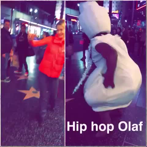 Watch and share #HollywoodFrozen #Hollywood #olaf #hiphop #hiphopolaf GIFs by @ShadowsOfBeauty on Gfycat