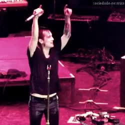 Watch . FOB PATD MCR . GIF on Gfycat. Discover more brendon, brendon urie, panic!, panic! at the disco, patd GIFs on Gfycat