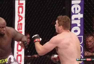 Watch Matt Mitrione Destroys Derrick Lewis Fight Night GIF on Gfycat. Discover more related GIFs on Gfycat