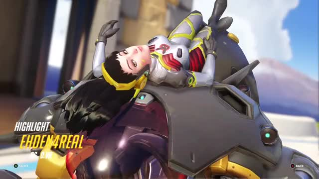 Watch and share Overwatch GIFs and Dva GIFs by thatehden on Gfycat