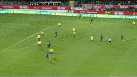 Watch and share Cristiano Ronaldo. Portugal - Ecuador. 2013 GIFs by fatalali on Gfycat