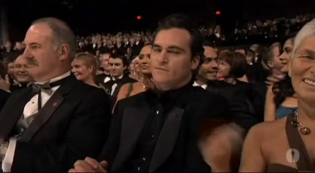 Watch and share Joaquin Phoenix GIFs and Academy Awards GIFs on Gfycat