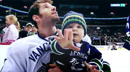 """Watch and share Jets-canucks: """" His Little Baby♥ """" GIFs on Gfycat"""
