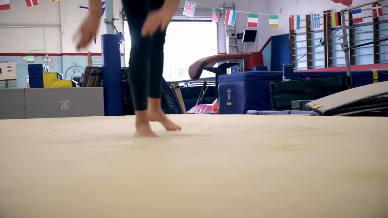 Flexibility, GYMNASTICS, Tumbling, demita, rachel, rademita, stretching, MY GYMNASTICS PRACTICE!!! Flexibility & tumbling at 28yr old! // Rachel DeMita GIFs