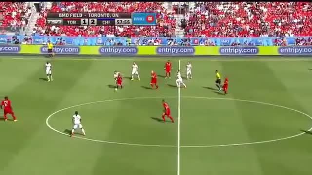 Michael Bradley Goal vs. Chicago GIFs