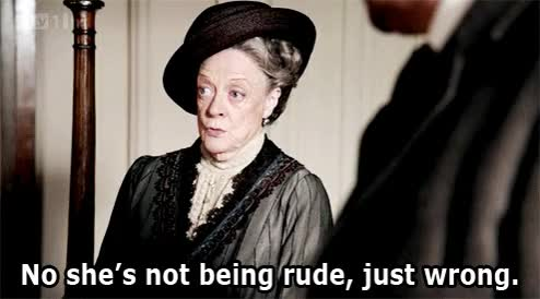 Watch this sassy GIF by Reaction GIFs (@sypher0115) on Gfycat. Discover more Maggie Smith, attitude, bitchy, sassy GIFs on Gfycat