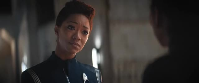Watch and share Michael Burnham GIFs and Discovery GIFs by Star Trek gifs on Gfycat