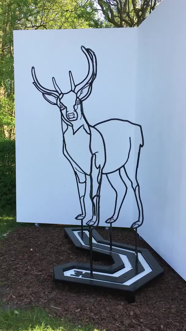 Watch and share Deer GIFs and Art GIFs by joliot on Gfycat