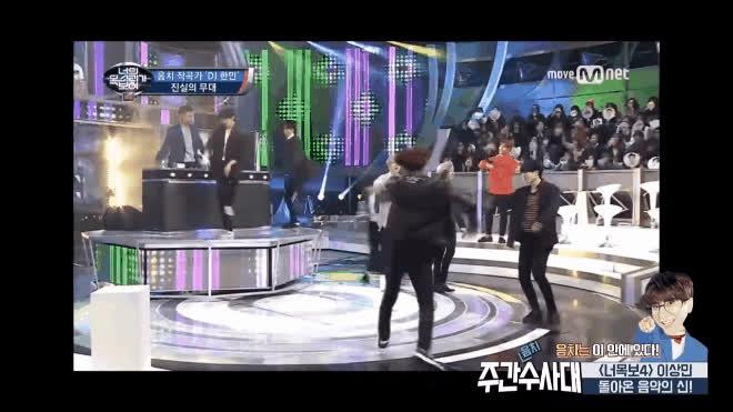 Sân khấu I Can See Your Voice Hàn bỗng hóa sàn nhảy với soái ca chơi DJ cực đỉnh