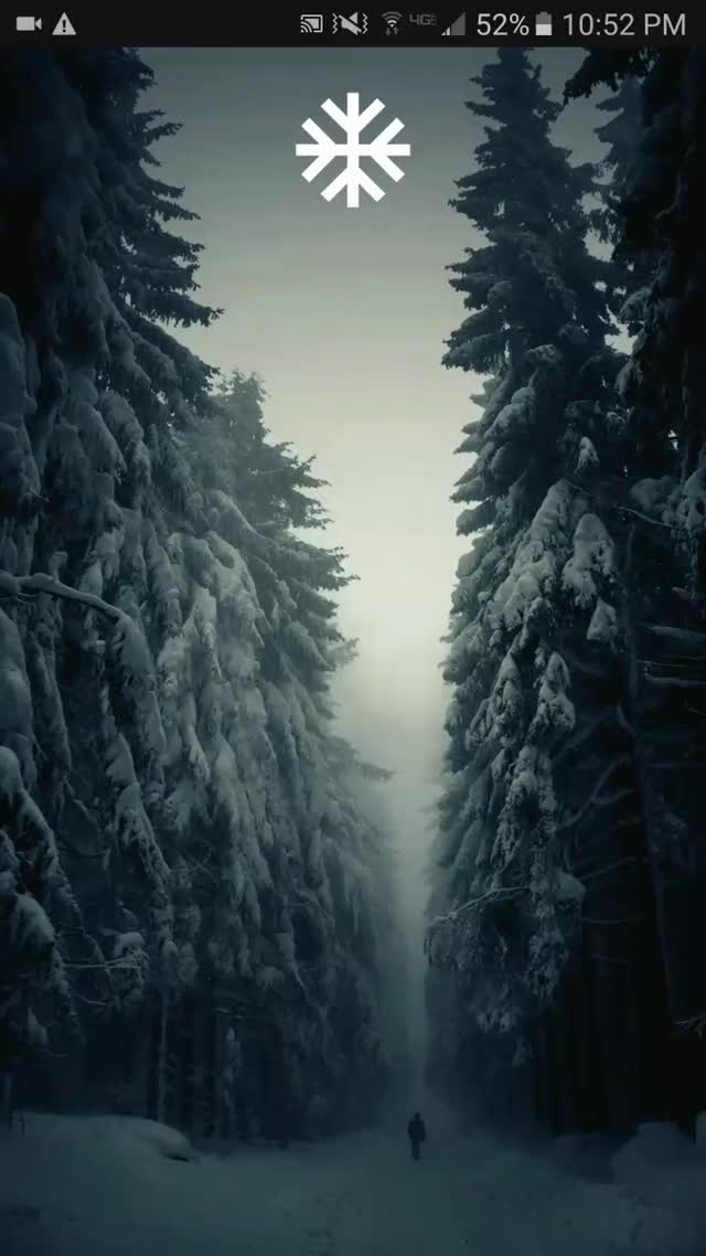 Watch and share Snowy Forest Android Theme GIFs by asgarthe on Gfycat