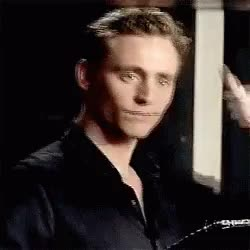 Watch and share Tom Hiddleston GIFs and No Problem GIFs by moscow13 on Gfycat
