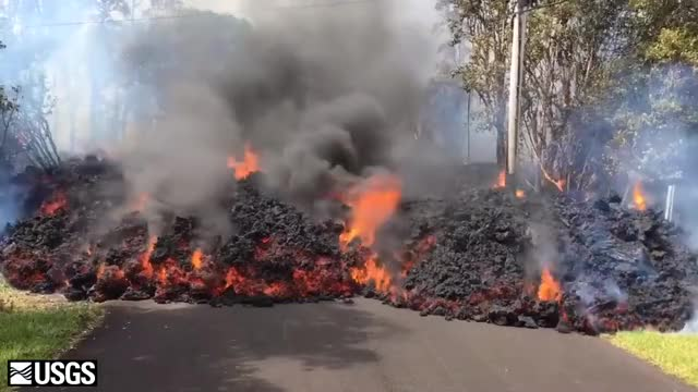 Watch See lava move down the street in Leilani Estates on the Big Island. #Kilauea ... GIF on Gfycat. Discover more related GIFs on Gfycat