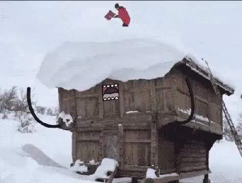 Watch and share Snow GIFs by Colar on Gfycat