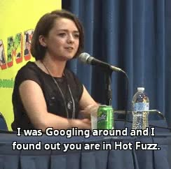 maisie williams,  GIFs