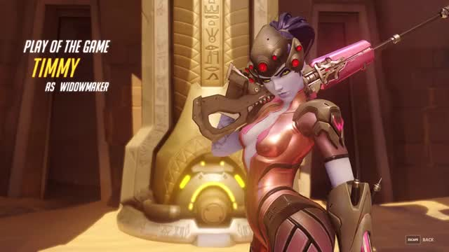Watch offensive widowmaker GIF by @timmy_gfycat on Gfycat. Discover more overwatch, potg, widowmaker GIFs on Gfycat