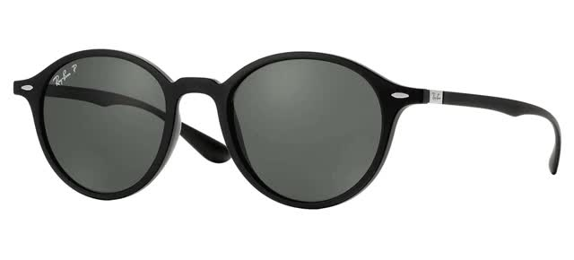 Watch and share Ray Ban Round Black Unisex Sunglasses GIFs on Gfycat