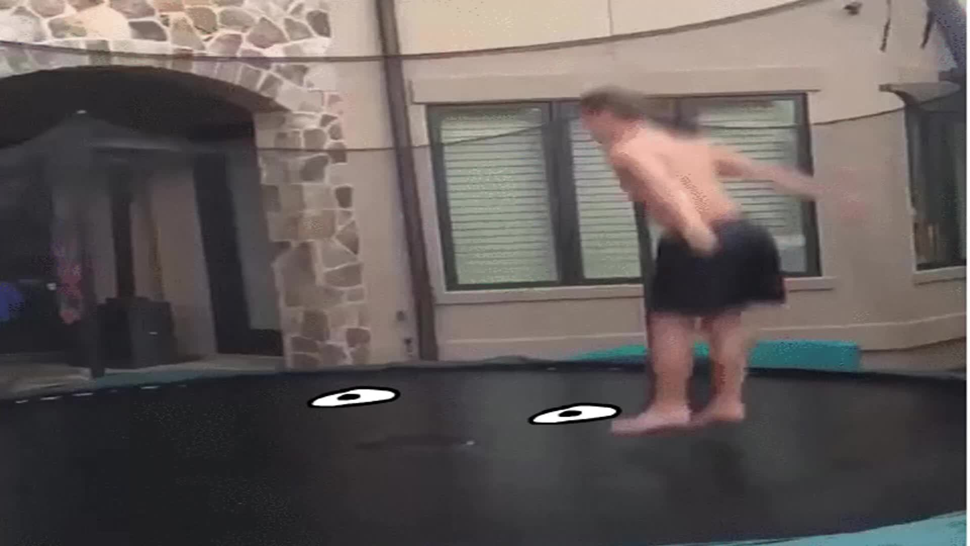 reallifedoodles, Trampoline is hungry. (reddit) GIFs