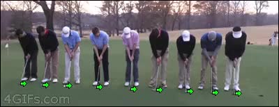 Watch and share 🏌 Person Golfing GIFs on Gfycat