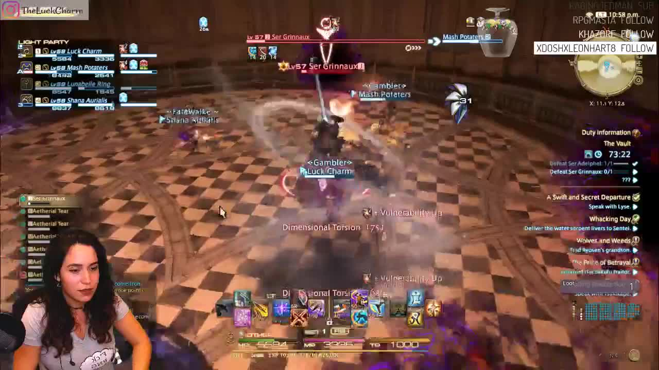 ffxiv, limit break, theluckcharm, Sacrificing Self For The Limit Break GIFs