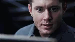 Watch and share Supernatural Dean Big Eyes Wid GIFs on Gfycat