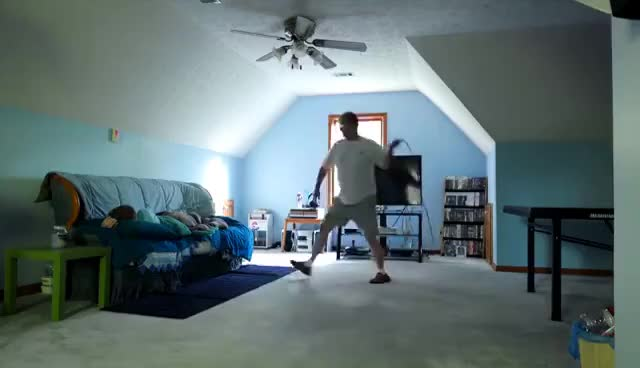 Watch ANGRY DAD BELT CHASE! (MouseTrap Extended) GIF on Gfycat. Discover more related GIFs on Gfycat